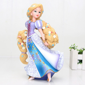 Image 5 - הנסיכה פלונטר רפונזל יסמין סינדרלה PVC פעולה איור צעצוע צעצועי ילדה