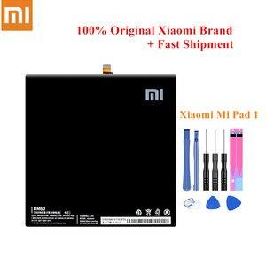 Image 1 - Original Tablet Battery BM60 For Xiaomi Pad 1 Mi Pad 1 Mipad1 A0101 6520/6700mAh Full Capacity Built in Batteria +Free Tools