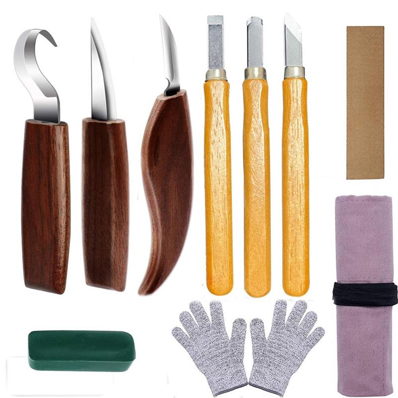 Chisel Carving Knife DIY Woodcut Wood Carving Tools Woodcarving Cutter Knives Woodworking Hand Tools Carving Cutter For Worker