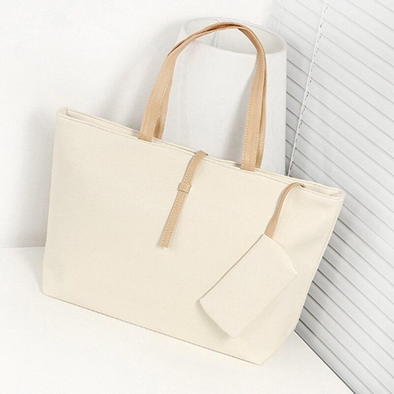 Hot Sale 1 Pcs Women Lady Shoulder Bag PU Leather Large Capacity Fashion For Travel Money