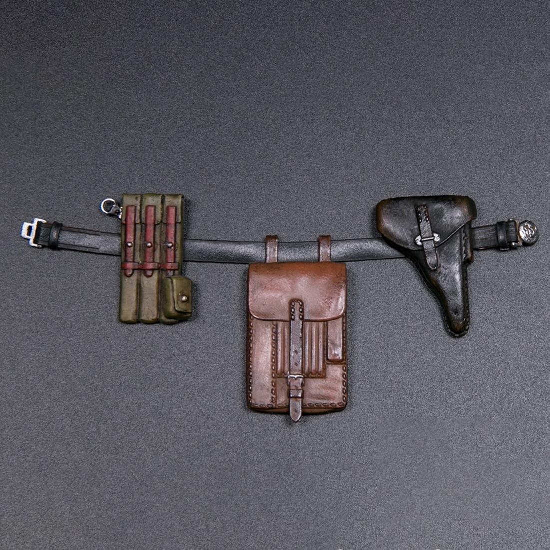 15 Cm 1/12 Action Figure Realistische Headsculpt Diy Handgemaakte Elite Wereldoorlog Ii Panzer Divisie Soldaat Model Educatief Speelgoed Gift - 3