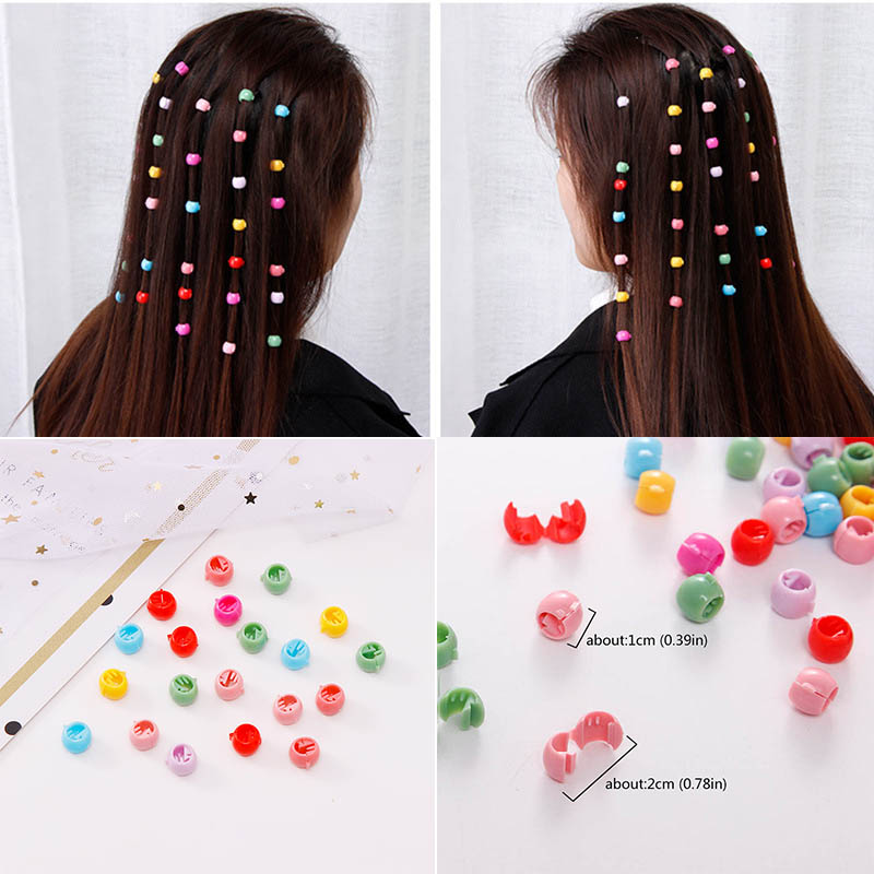 30/20/10PCS Baby Girls Small Hair Claw Cute Candy Color Hair Clamp Kids Hair Clips Baby Girl Hairpins Hair Accessories