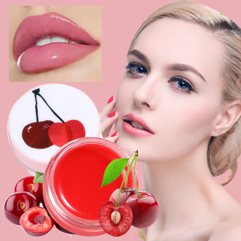 Moisturing Anti Aging Lips Care Fruit Flavor Lip Balm Temperature Changed Color Long Lasting Makeup Lips Balm Nourish Hydrating
