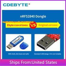 nRF52840 BLE4.2/5.0 2.4GHz Wireless RF Logical Module USB I/O Interface CDEBYTE E104-BT5040U 250m Antenna Transceiver IoT DIY