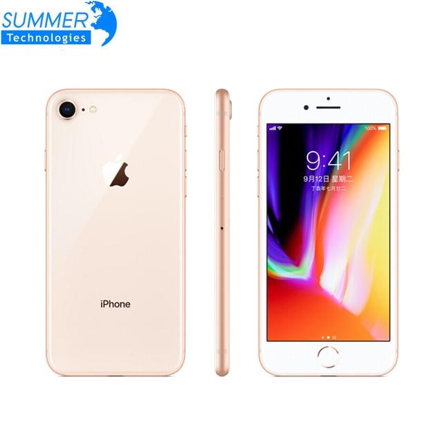 "Original Unlocked Apple iPhone 8 4G LTE Mobile Phone Ram 2GB Rom 64GB/256GB 4.7"" 12.0MP Hexa Core iOS Fingerprint Smartphone 1"