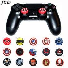 JCD 2 pièces pouce bâton poignée capuchon pouce Joystick housse pour Sony PS3 PS4 Pro mince PS5 Xbox One 360 commutateur Pro contrôleur