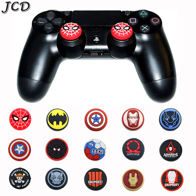 JCD 2PCS אגודל מקל אחיזת כובע Thumbstick ג ויסטיק כיסוי מקרה עבור Sony PS3 PS4 פרו Slim PS5 Xbox אחד 360 מתג פרו בקר