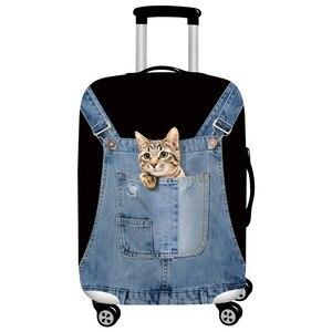 Чехол для чемодана, плотный, эластичный, для чемоданов размером 18'-32''