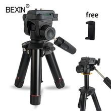 เดสก์ท็อปถ่ายภาพMiniขาตั้งกล้องขาตั้งกล้องสมาร์ทโฟนMount Holderสามมิติหัวขาตั้งกล้องสำหรับกล้องDslr Travel