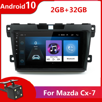 bose system 9'' 2 din Android 10 Auto Radio Car Multimedia For Mazda Cx-7 cx7 cx 7 2008-2015 GPS Navigation Stereo Audio Player image