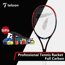 Teloon Professional Tennis Racket Full Carbon for Male and Female College Student Competition and Training High Quality K039SPA