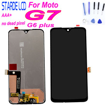 100% Test for Moto G7 XT1962 LCD Screen Display Touch Digitizer Screen Glass Replacement For Motorola G7 Display g 7 G6 plus LCD