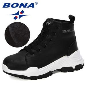 Image 2 - BONA 2019 New Designers Microfiber Snow Boots Women Short Plush Boots Ladies Ankle Boots Warm Winter Footwear Feminimo Trendy