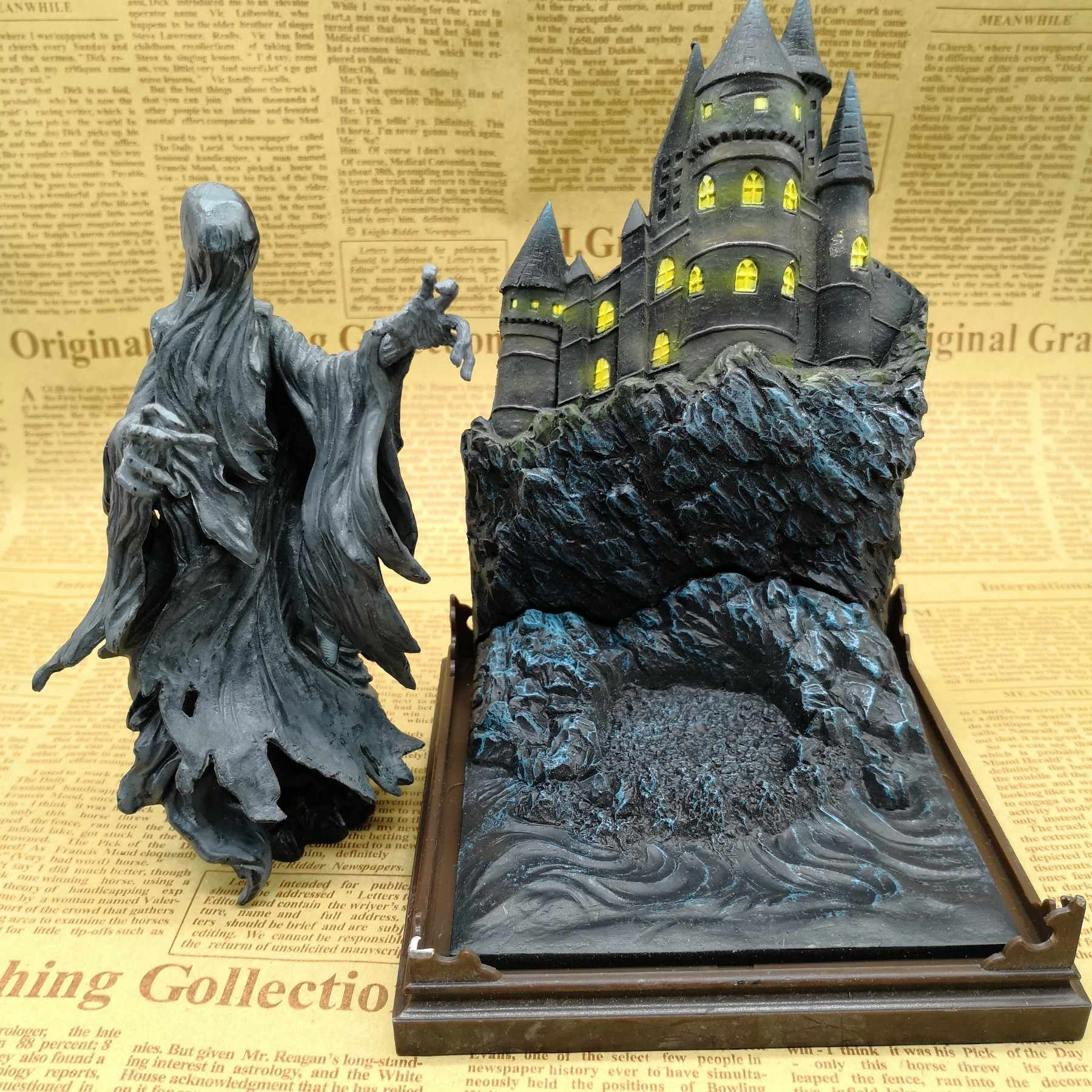 Harry Makhluk Ajaib Dementor 6-Inch Boneka Action Figure Patung Pack OPP Tas Model S155