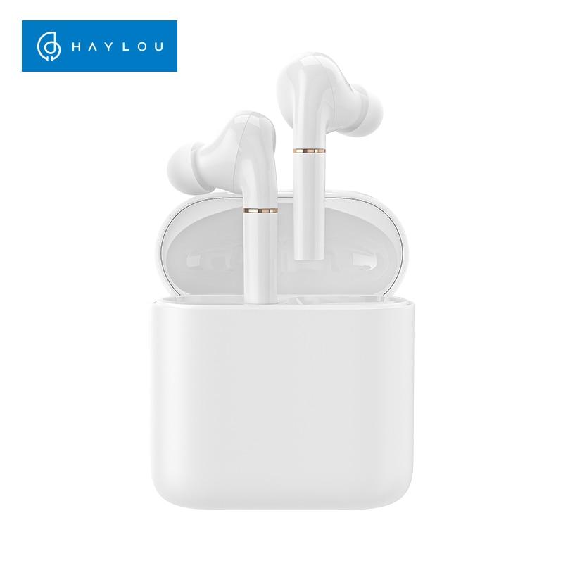 Haylou T19 Wireless Charging TWS+ Bluetooth Headphones ,Smart Noise Cancelling, APTX Infrared Sensor Touch Wireless Earphones