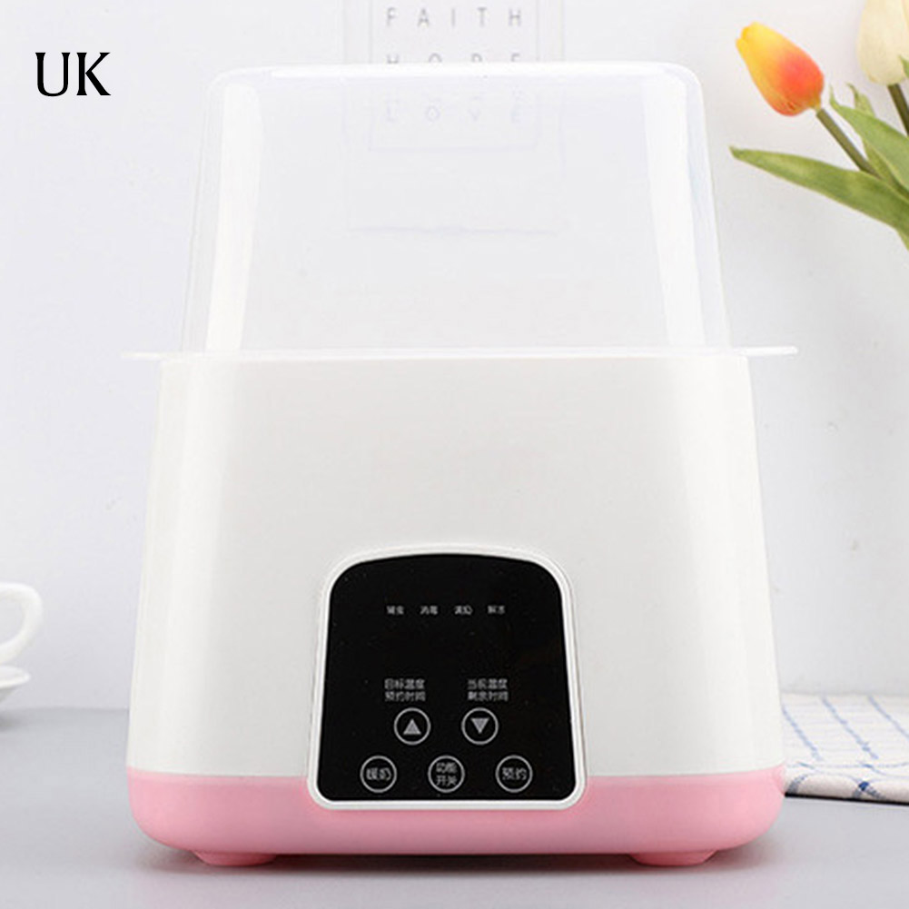 Upgraded 6 in 1 Remote Control Automatic Intelligent Thermostat Baby Bottle Warmers Disinfection Fast Warm Milk & Sterilizers