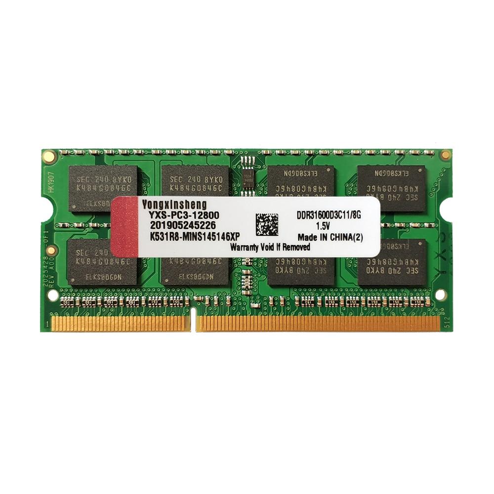 Оперативная память 1 Гб 2 ГБ 4 ГБ 8 ГБ DDR2 667 МГц 800 PC2 5300S 6400S DDR3 1333 МГц 1600 PC3 10600S 12800S SO-DIMM памяти ноутбука Лот
