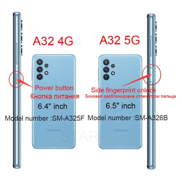 Candy Color Silicone Phone Case For samsung galaxy A12 A42 A52 A72 A32 5G M02S A02S M31s Matte Soft Tpu Back Cover Fundas Coque 6