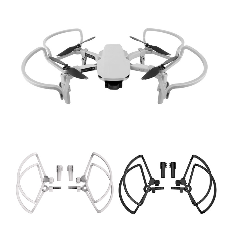 Propeller Guards For DJI Mavic Mini Drone Blade Protector With  Folding Landing Gear Kits Accessories