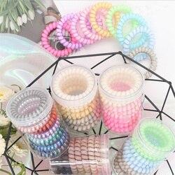 Bracelet et fil de téléphone pour femmes | Style coréen, boîte de coiffure mignonne, bandes de cheveux élastiques, accessoires de cheveux pour filles