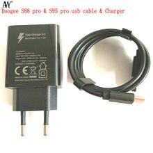 AVY עבור Doogee S88 פרו S95 פרו S68 פרו S90 פרו S90C S80 סוג C USB כבל טעינה מהירה נייד טלפון מהיר מטען אביזרים