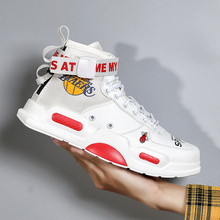 2019 Autumn New High Top Men's Casual Shoes Brand
