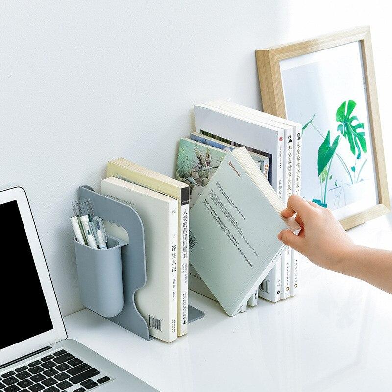 Bookends Creative Retractable Bookstand Simple Office School Book Desktop Storage Bookstand Student Desk Bookstand Book Storage