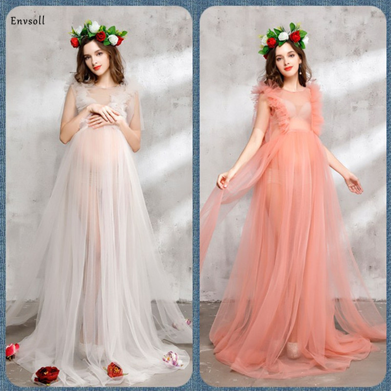 2020 Maternity Gown Pregnant Dress Pregnancy Clothes For Pregnant Women Maternity Photograph Photography Clothes For Photo Props