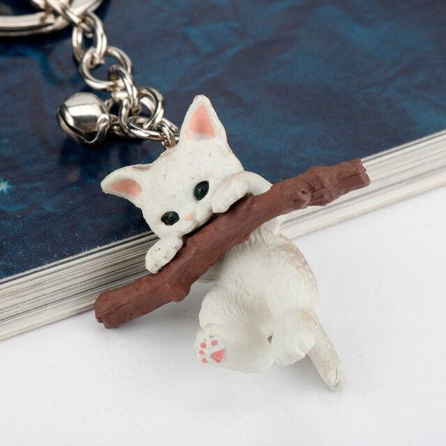 Details about  /New Lovely Cat Kitten Keychain Keyring Handbag Pendant Ornament Kids Toy GijWnh5