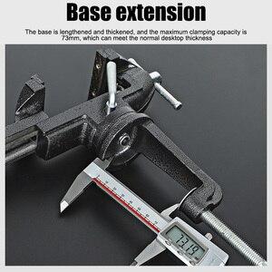 Muliti-Funcational Bench Vise Mini Rotating Tables Screws Vise Bench Clamp Screws Vise for DIY Crafts Mold Fixed Repair Tool