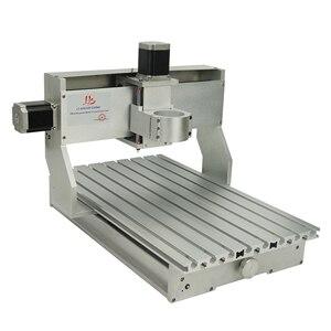 Image 4 - 3040 cnc рамка 400*300 мм токарный шариковый винт с 57 мм гравировальный двигатель сверлильные и фрезерные инструменты