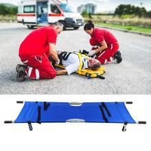 Портативные водонепроницаемые складные носилки, больничные бытовые, аварийные, аварийные, складные носилки, кровать, защита от травм