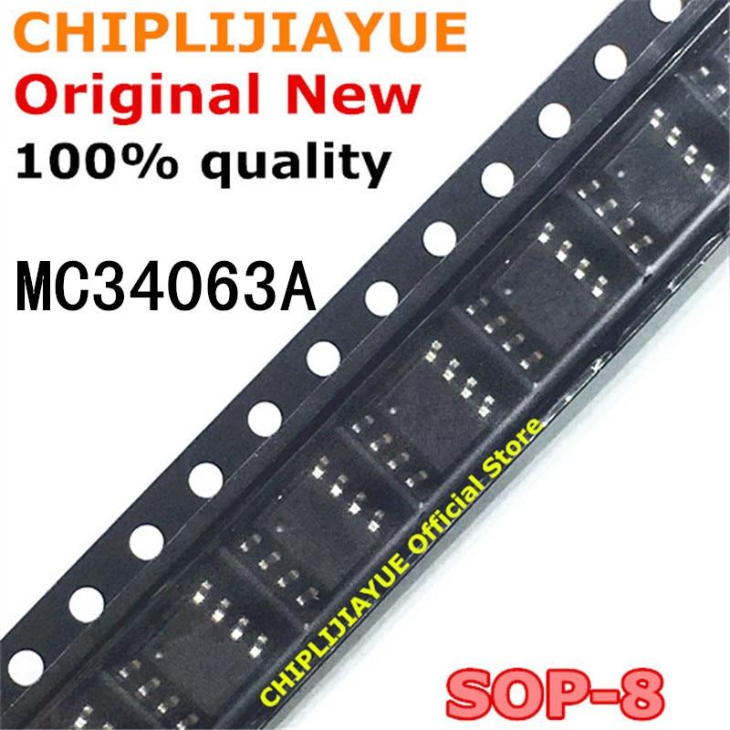 10 шт. MC34063A SOP-8 MC34063 SOP 34063 SOP8 SMD новый и оригинальный IC чипсет