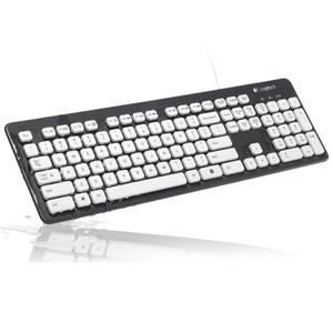 Image 3 - Logitech K310 Washable USB Wired Keyboard 108 Keys Gaming Office Keyboards For Windows XP Vista 7 8 Desktop Laptop PC Computer