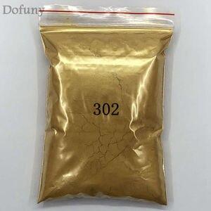 Image 3 - 50g عالية الجودة الميكا مسحوق ذهبي الصباغ لديي الديكور الطلاء مستحضرات التجميل المعدنية الذهب الغبار الصابون صبغ