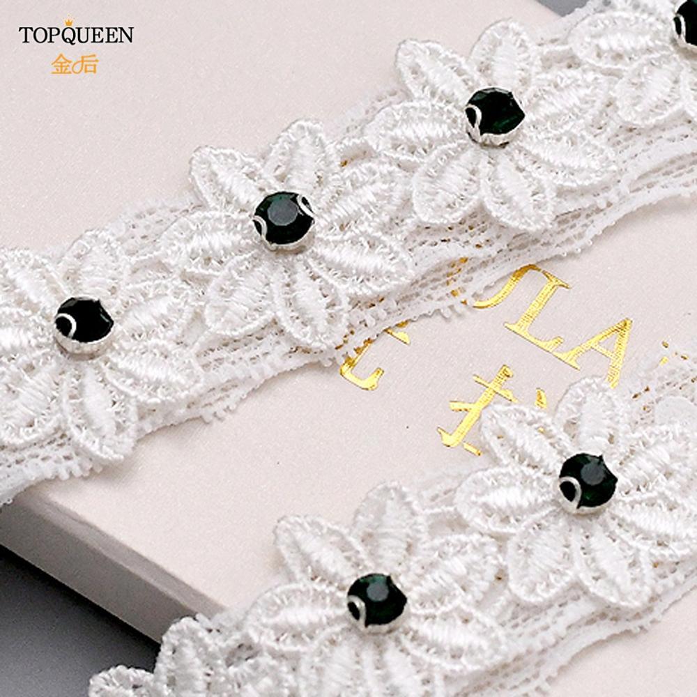 Купить topqueen свадебные подвязки с кружевным поясом кольцо на подтяжках