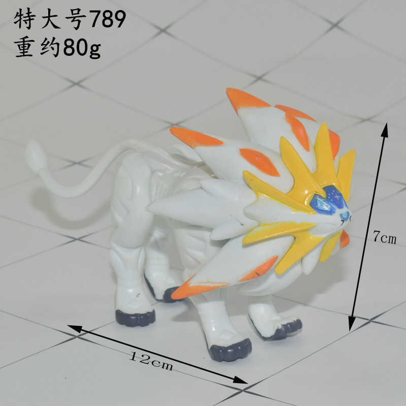 Solgaleo Big size Anime Figures Cartoon Action & Toy Figures Collection Pokemonal Model Toys For Children 2