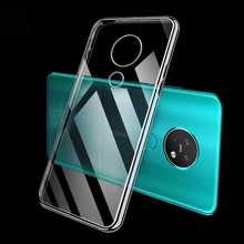 Ultra Thin Clear Transparent Soft Case For Nokia 7.2 2.2 6.2 3.2 4.2 Phone Case Cover
