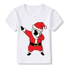 Christmas Clothes Cartoon T Shirt Children Clothing