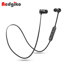 Bluetooth Earphone V4.2 Wireless Stereo Sports Waterproof Earbuds in-ear Headset with Mic for iPhone Samsung Huawei top selling wireless bluetooth earphone in ear stereo waterproof sports headset earbuds for iphone samsung lg htc huawei et1