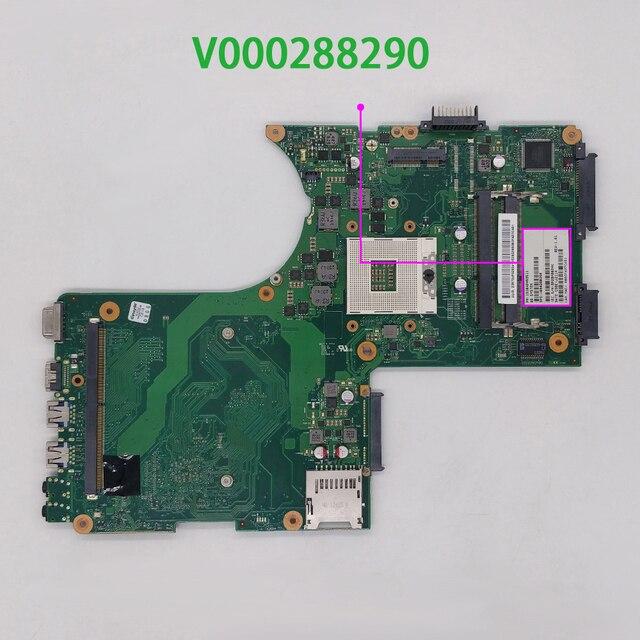 עבור Toshiba Qosmio X870 X875 V000288290 6050A2493501 MB A02 מחשב נייד האם Mainboard נבדק