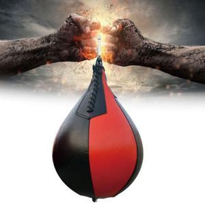 Fitness boxe poire forme PU vitesse balle pivotant boxe poinçonnage vitesse sac entraînement accessoire boxe Base équipement entraînement balle