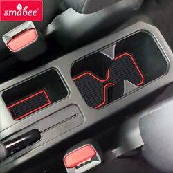 Smabee ворота Слот коврик для Suzuki Jimny 2019 нескользящий Внутренний дверной коврик/чашки коврики белый/зеленый/черный