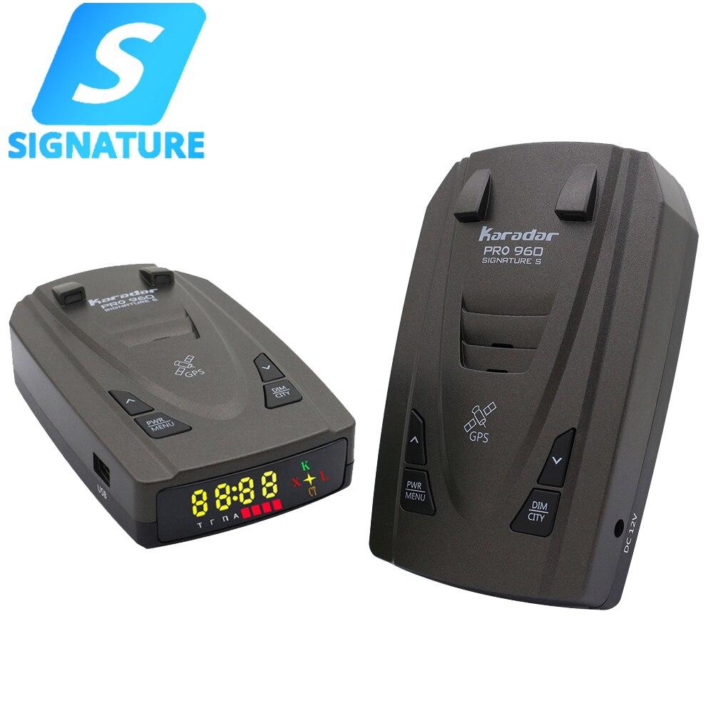 Karadar Pro960 Антирадары Подпись GPS анти Антирадары светодиодный 2 в 1 для российских анти-полицейский Скорость сигнализация с X K CT Kordon