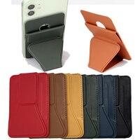Per Magsafe nuovo portafoglio originale in vera pelle per IPhone 12 Pro Max 12Mini custodia in pelle magnetica con supporto per supporto in pelle
