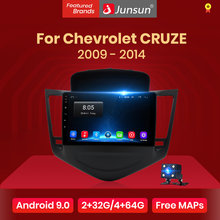 Junsun 4G + 64G Android 9.0 Voor Chevrolet Cruze 2009-2011 2012-2014 Auto 2 Din auto Radio Stereo Speler Bluetooth Gps Geen 2din Dvd(China)