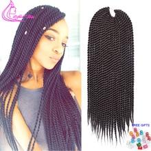 12 14 16 18 20 22Inch Handmade Crochet Braids Senegalese Twist Hair