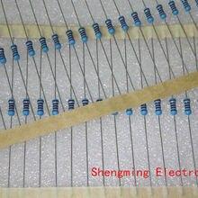 100 шт. 1/4W 1R~ 1 м 1% металлического пленочного резистора серии 10R 100R 220R 1K 1,5 K 2,2 K 4,7 K 10K 22K 47K 100 к 100 220 1K5 2K2 4K7 Ом