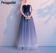 FENGGUILAI 2019 Women Sexy High Neck Long Sleeve Hollow Out Dresses Female Sequin Dress Maxi Elegant