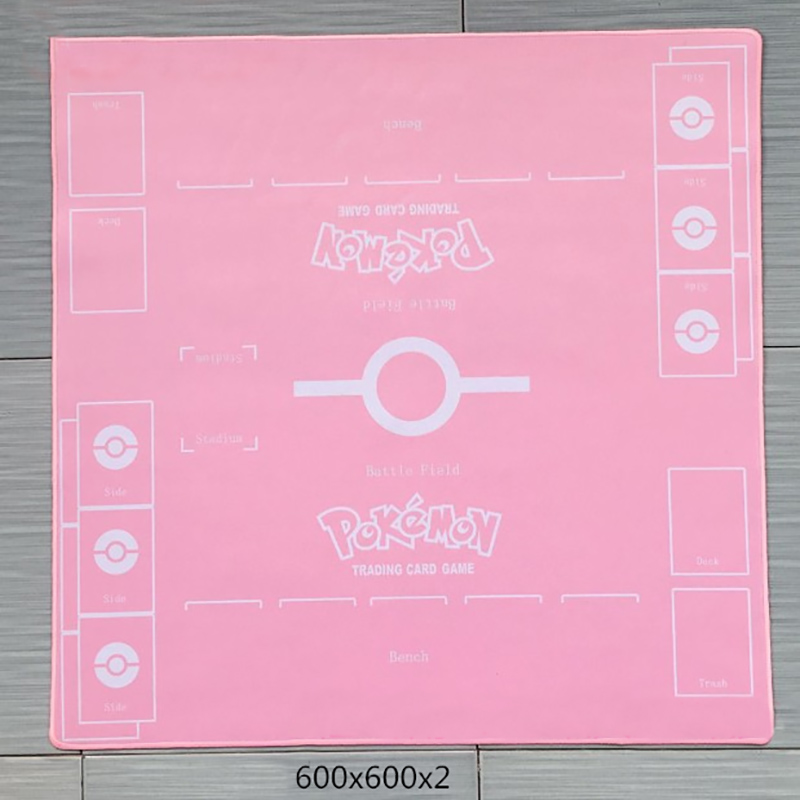 Takara Tomy PTCG Accessories Pokemon Playmat Card Board Game Girl Trainer Trainer Duet Battle Arean Toys For Children